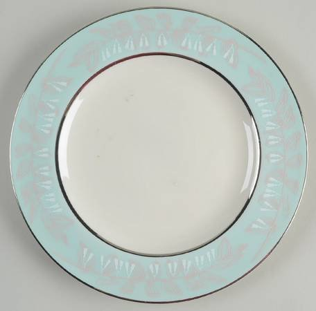 Nancy Prentiss Dinner Plate, Foxhall Pattern
