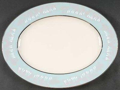Nancy Prentiss Oval Serving Platter 15.5