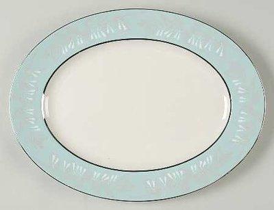 Nancy Prentiss Oval Serving Platter 13.5