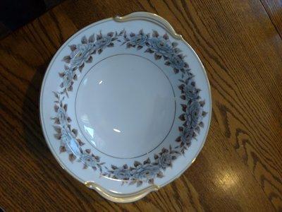 Noritake China Round Serving Bowl, Pattern 5318, Glenbrook