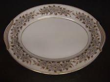 Noritake China, Oval Serving Platter, Pattern 5318, Glenbrook