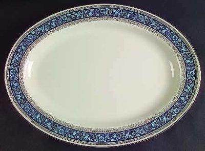 Pickard China, Oval Serving Platter 14