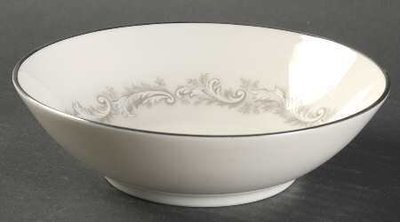 Noritake Ivory China, Coupe Cereal Bowl, Marquis 7540
