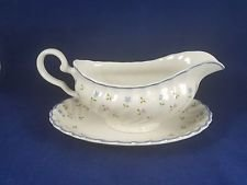 Johnson Brothers, Gravy Boat With Underplate, Melody Pattern