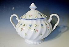 Johnson Brothers, Sugar with Lid, Melody Pattern
