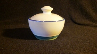Pfaltzgraff USA, Sugar With Lid, Ocean Breeze Pattern