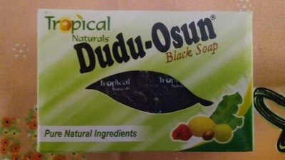Dudu-Osun Black Soap,  All Natural Ingredients, African Black Soap. 150g Bar