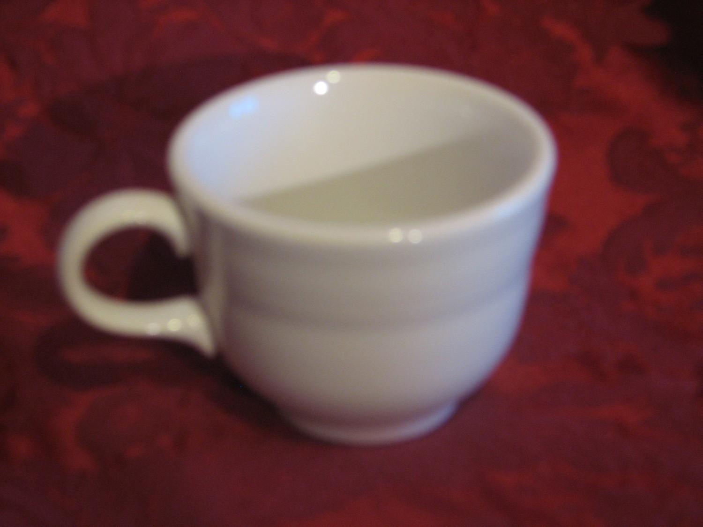 Vintage Fiestaware Coffee Cup, White