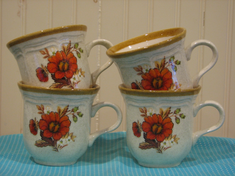Mikasa Cup, Garden Club, Harvest Bouquet EC 455 Cup