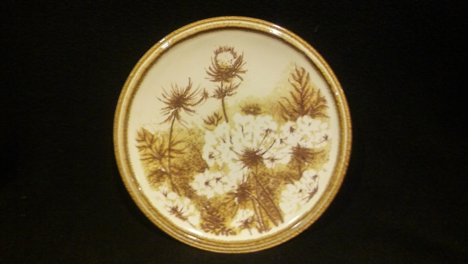 "Mikasa Nature's Gallery, Salad Plate 7 3/4"", Rolling Hills Pattern #D8004"