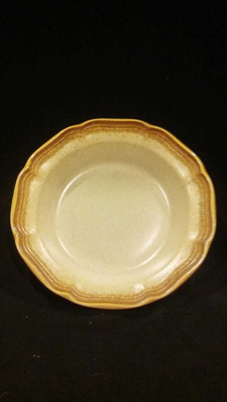 "Mikasa Soup/Cereal Bowl 8 1/2"", Whole Wheat, Pattern E8000"