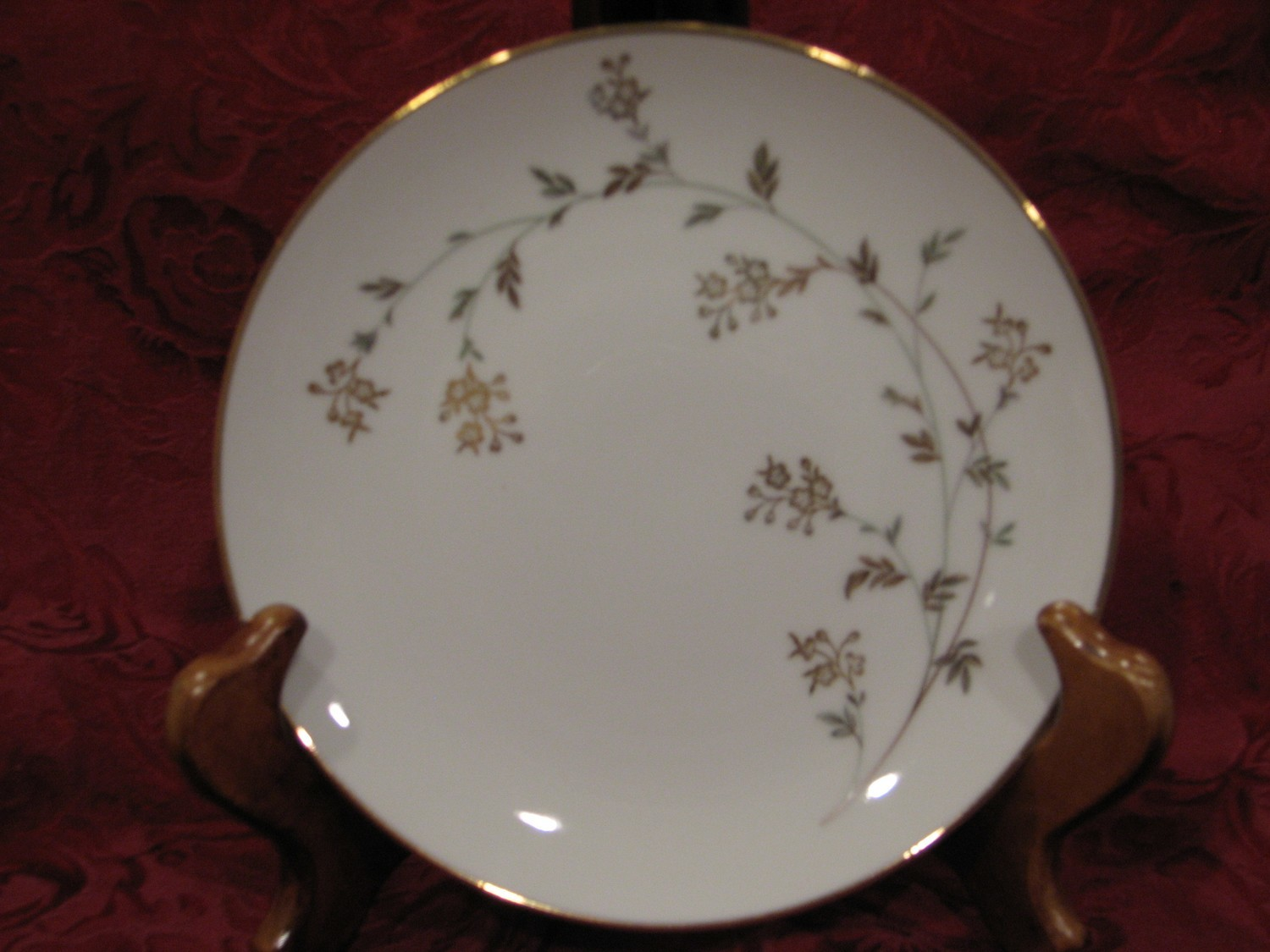 "Noritake China Dinner Plate 10.5"" Andrea Pattern #5524"