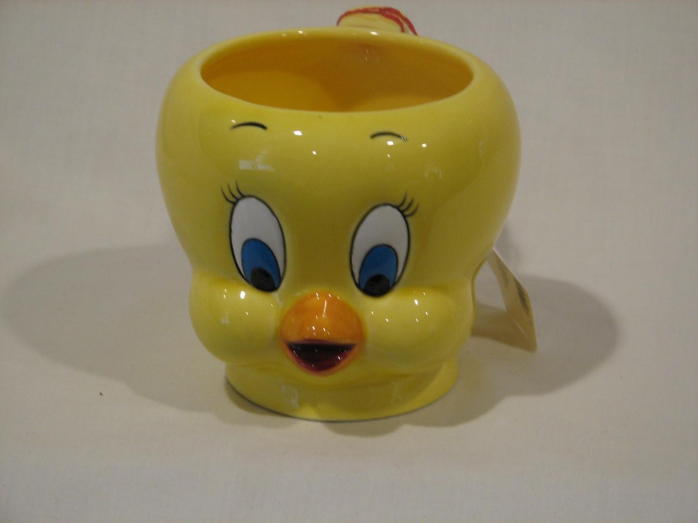 Looney Tunes  Tweety 3D Figural Ceramic Mug