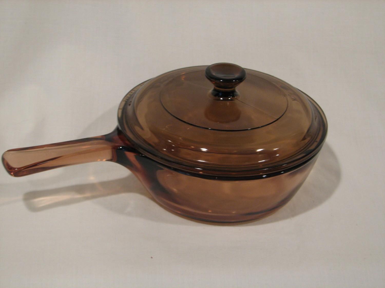 Corning Ware Visions Sauce Pan .5L W/Lid.