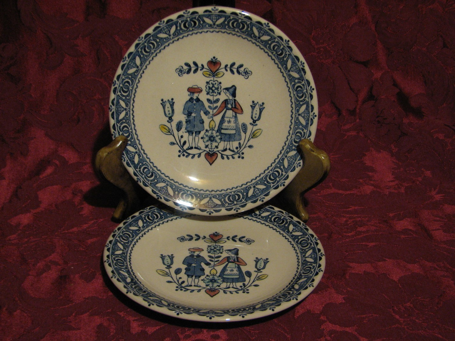 Johnson Brothers, Hearts & Flowers, Bread & Butter plate
