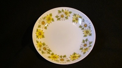 """Noritake China, Coupe Cereal Bowl 6 1/4"""", Cook &Serve, Marguerite Pattern 6730"""