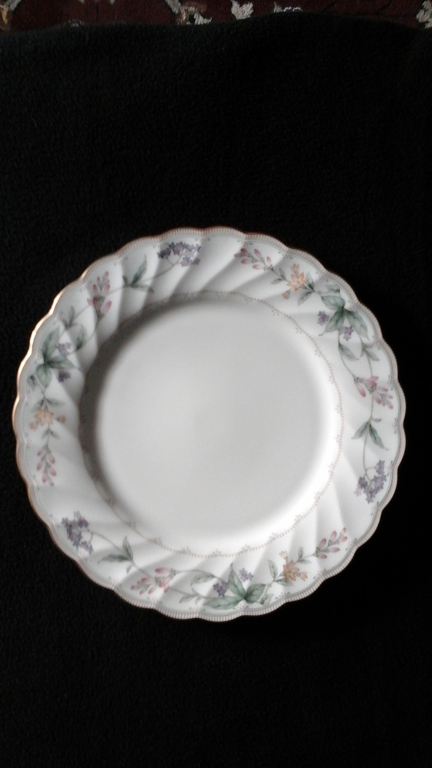 "Noritake China Bread & Butter Plate 6 1/4"" Brookhollow Pattern #4704"