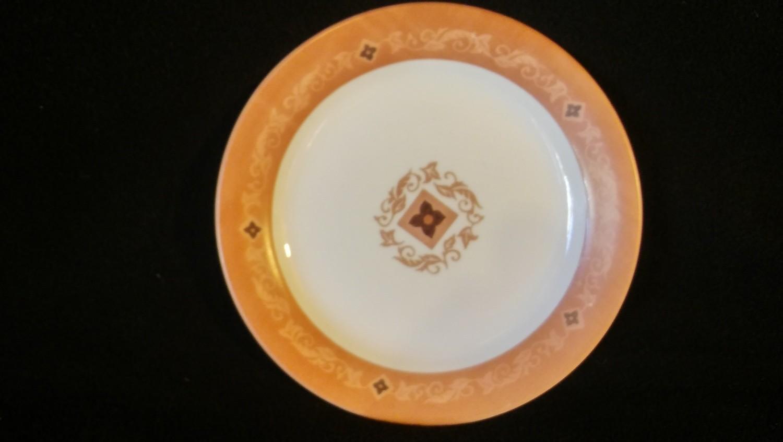 "Corelle by Corning, Salad Plate 7 1/4"", Mesa Verde Pattern"