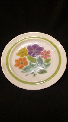 "Franciscan Earthenware, Floral Pattern, 10.5"" Dinner Plate"