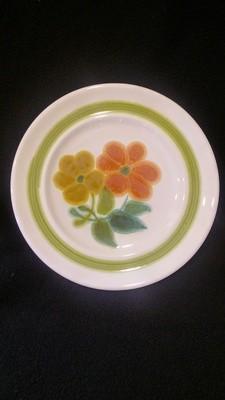 "Franciscan Earthenware, Floral Pattern, Bread & Butter Plate 6 3/4"""