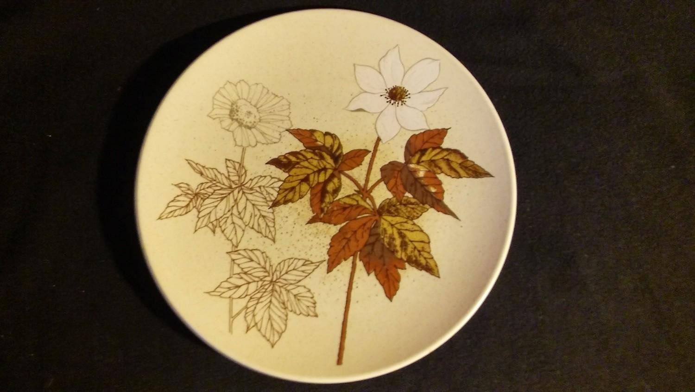 "Mikasa Indian Feast, Salad Plate 7 3/4"", Alpine Meadow Pattern # DE 865"