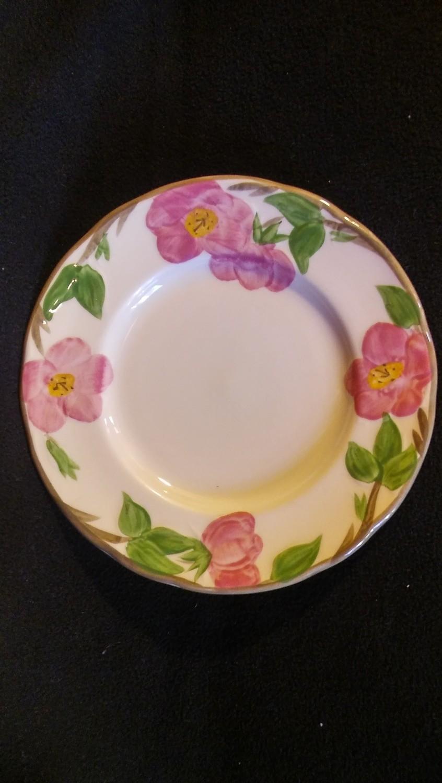 """Franciscan England, Salad Plate 7 7/8"""", Desert Rose Pattern"""
