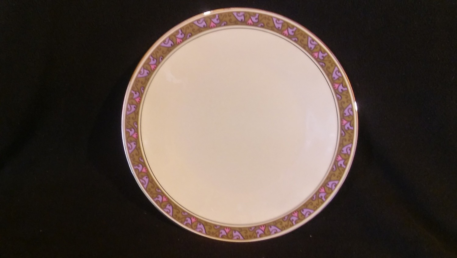 """Franciscan Masterpiece China, Dinner Plate 10 1/2"""", Constantine Pattern"""