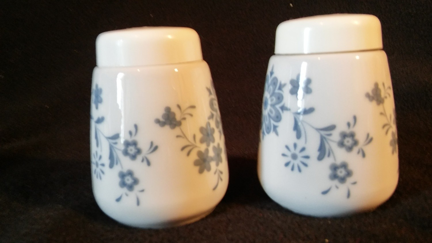 Seltmann Weidess Bavaria, Salt & Pepper Shaker Set, Theresle Pattern
