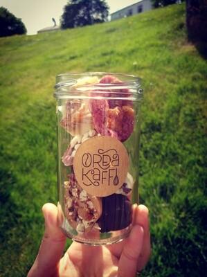 Chocolate gift jar