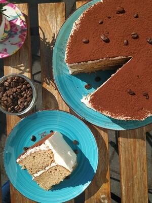 Tiramisú coffee cake