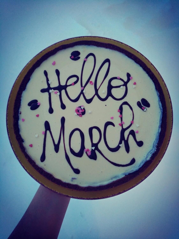 """""""Be happy"""" cake"""