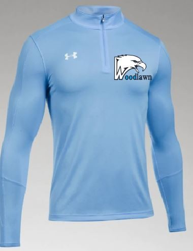 UnderArmour 1/4 Zip Pullover w/Embroidered Logo