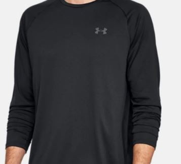 UA Tech 2.0 Long Sleeve Shirt w/ front print