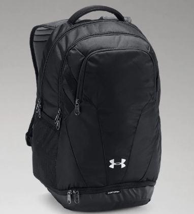 UA Hustle 3.0 Back Pack w/ embroidery