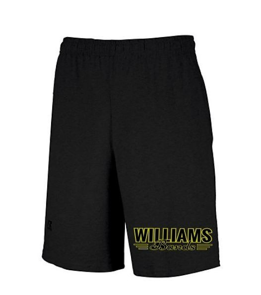 Russell Cotton Pocket Shorts w/embroidered logo