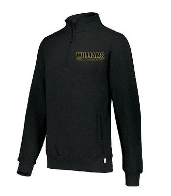 Russell Fleece 1/4 Zip Pullover w/embroidered logo