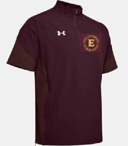 UA Motivate SS 1/4 Zip BP Jacket w/embroidered logo