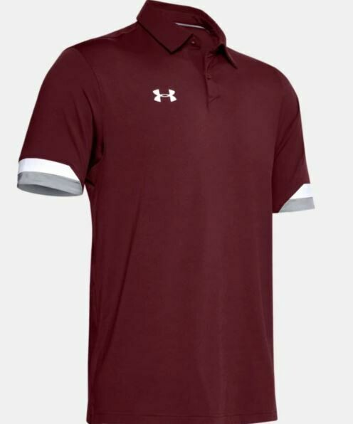 UA Trophy Polo with Embroidered Logo on Left Chest