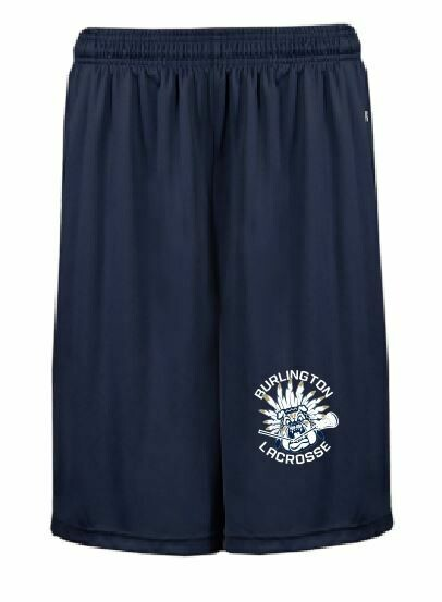 Badger B-Core Pocket Shorts w/screened logo