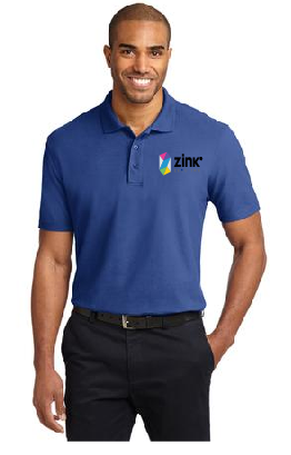 Port Authority Short Sleeve Polo with embroidery