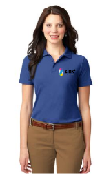 Ladies Port Authority Short Sleeve Polo with Embroidery