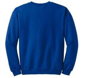 Gildan  100% Cotton Crew Sweatshirt with Left Chest Embroidery