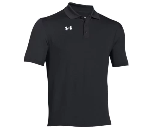 UA Team Armour Polo with Embroidered Logo on Left Chest