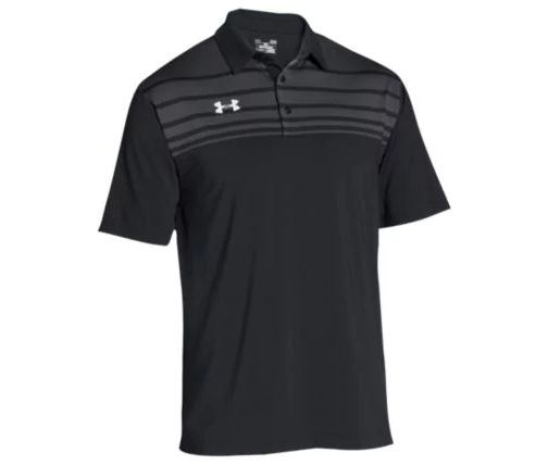 UA Victor Polo with Embroidered Logo on Left Chest