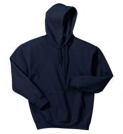 Gildan Hooded Sweatshirt with Front Logo