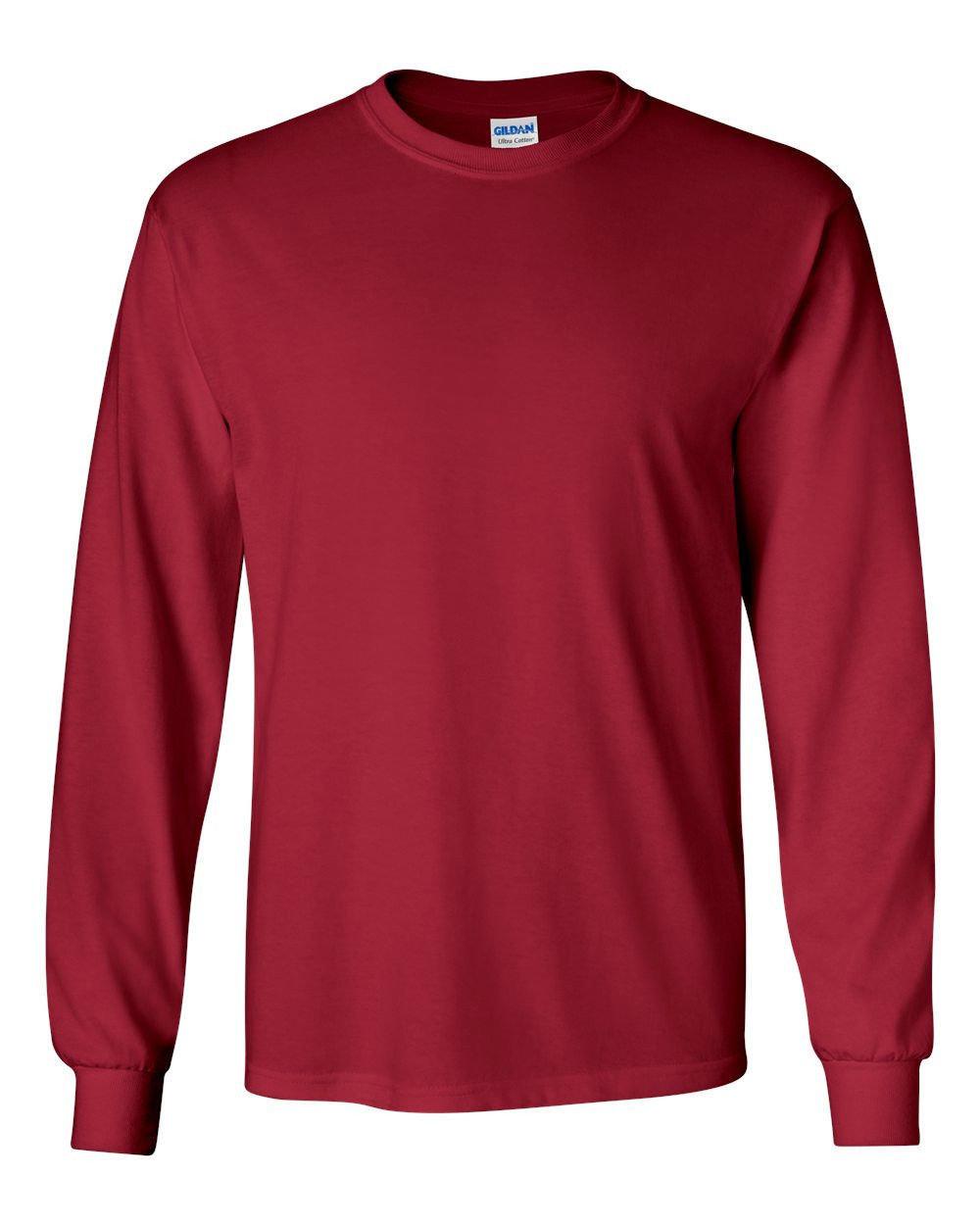 Gildan Long Sleeve Shirt with Logo
