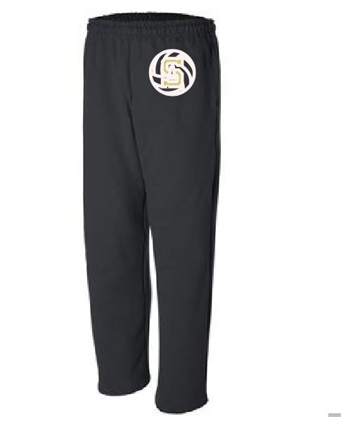 Gildan Fleece Warm-Up pant w/embroidered logo