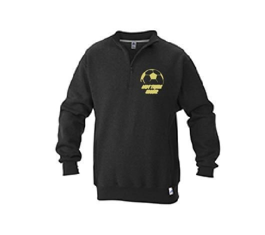 Russell 1/4 Zip Jacket w/embroidered logo