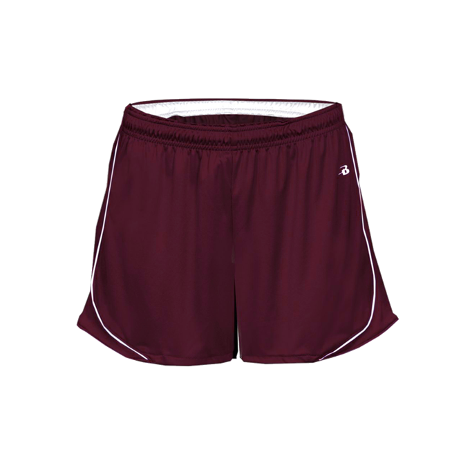 Badger Pacer Women's Shorts with logo