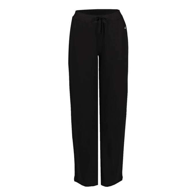 Badger Pocketed Fleece Ladies Pant with embroidered logo